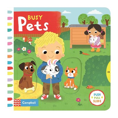 Book cover for Busy Pets