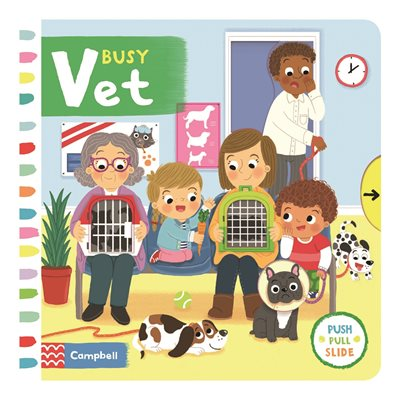 Book cover for Busy Vet
