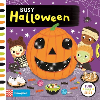Book cover for Busy Halloween