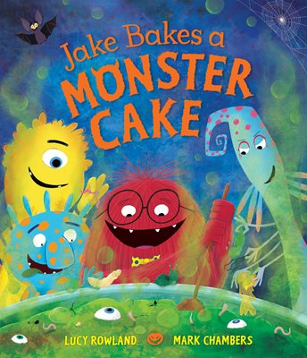 Book cover for Jake Bakes a Monster Cake