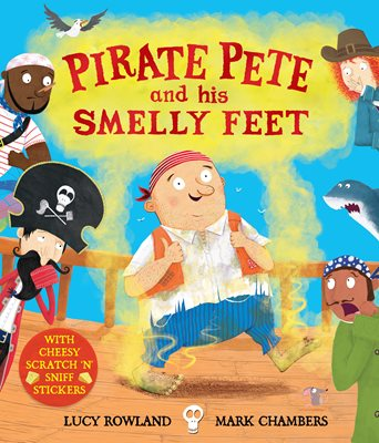 Book cover for Pirate Pete and His Smelly Feet