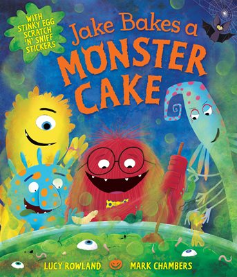 Jake Bakes a Monster Cake