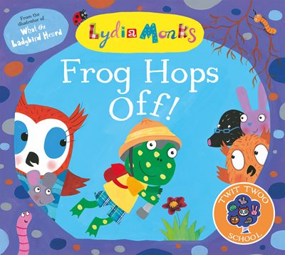 Book cover for Frog Hops Off!