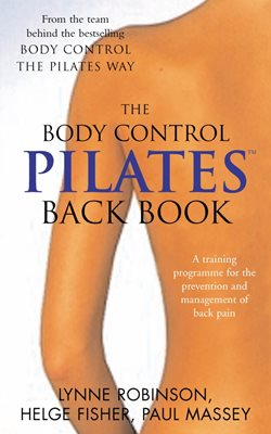 Book cover for Pilates Back Book