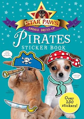 Book cover for Pirates Sticker Book: Star Paws