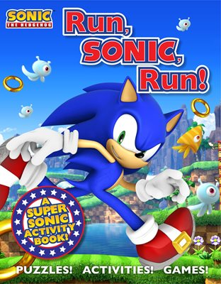 Book cover for Sonic the Hedgehog Activity Book