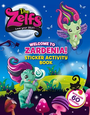Book cover for The Zelfs Sticker Book