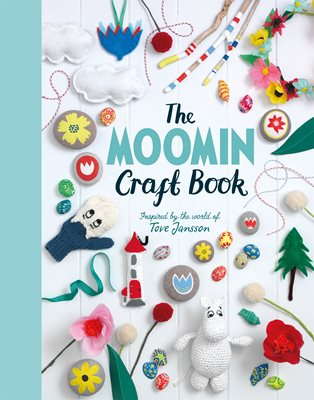Book cover for The Moomin Craft Book