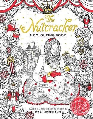 Book cover for The Nutcracker Colouring Book