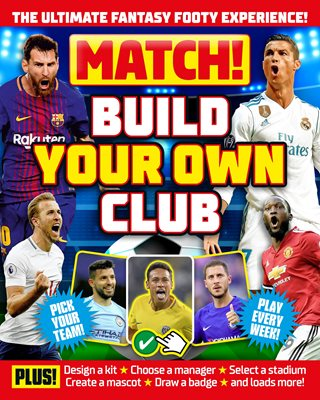 Book cover for Match! Build Your Own Club