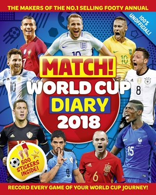 Book cover for Match! World Cup 2018 Diary