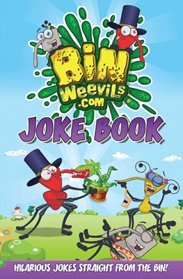 Book cover for Bin Weevils Joke Book