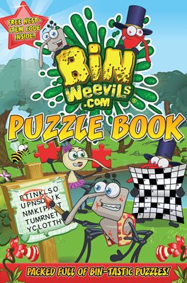 Book cover for Bin Weevils Puzzle Book
