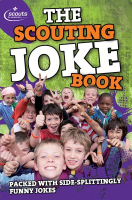 Book cover for The Scouting Joke Book