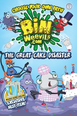 Book cover for Bin Weevils Choose Your Own Path 1