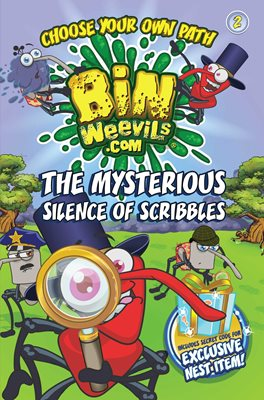 Book cover for Bin Weevils Choose Your Own Path 2