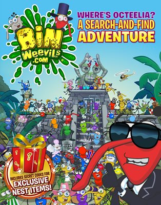 Book cover for Bin Weevils: Where's Octeelia?