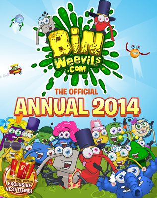 Book cover for Bin Weevils: The Official Annual 2014