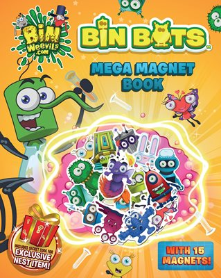Book cover for Bin Weevils: Bin Bots Magnet Book
