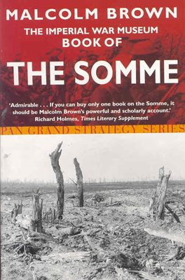 Book cover for The Imperial War Museum Book of the Somme