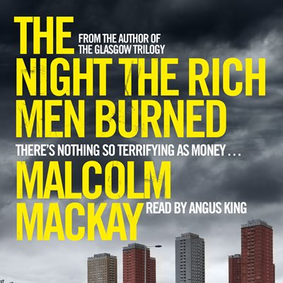 Book cover for The Night the Rich Men Burned