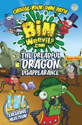 Book cover for Bin Weevils Choose Your Own Path 3