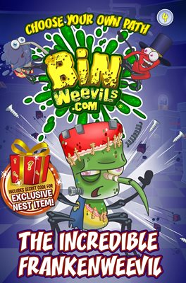 Book cover for Bin Weevils Choose Your Own Path 4