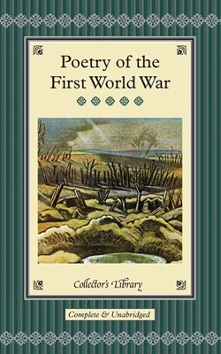Book cover for Poetry of the First World War