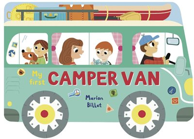 Book cover for Whizzy Wheels: My First Camper Van