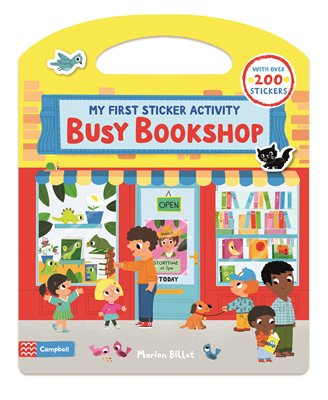 Book cover for Busy Bookshop: My First Sticker Activity