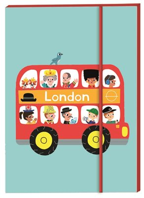 Book cover for London Notebook A6