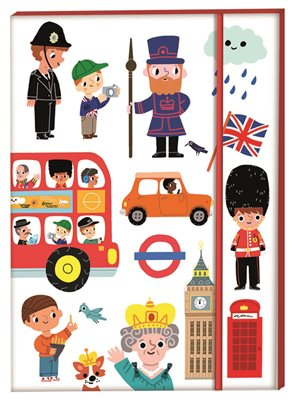 Book cover for London Notebook A5