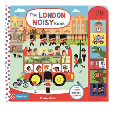 Book cover for The London Noisy Book