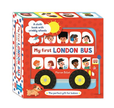Book cover for My First London Bus Cloth Book