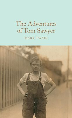 Book cover for The Adventures of Tom Sawyer