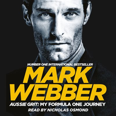 Book cover for Aussie Grit: My Formula One Journey