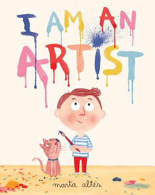 Book cover for I Am An Artist