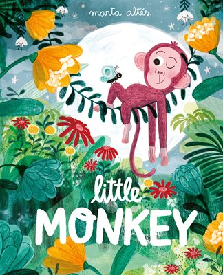 Book cover for Little Monkey