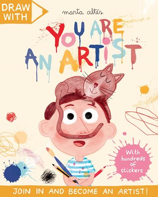 Book cover for Draw With Marta Altés: You Are an...