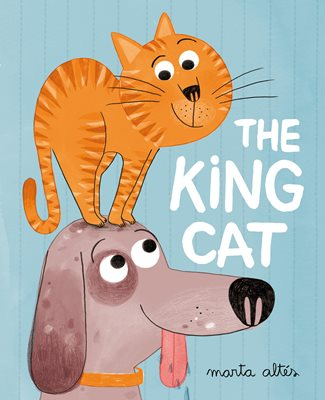 Book cover for The King Cat