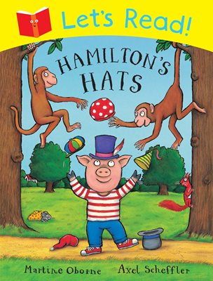 Book cover for Let's Read! Hamilton's Hats