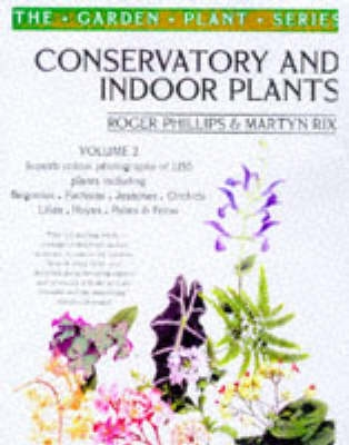Book cover for Conservatory and Indoor Plants Volume 2