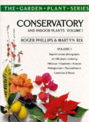 Book cover for Conservatory and Indoor Plants Vol. 1