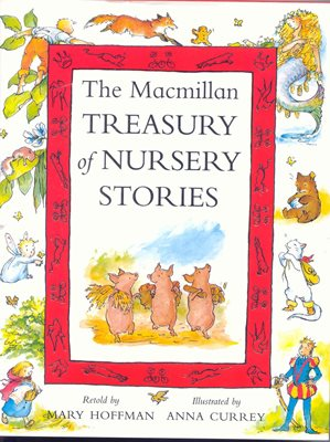 Book cover for The Macmillan Treasury of Nursery...