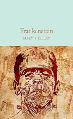 Book cover for Frankenstein