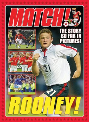 Book cover for Match presents Wayne Rooney