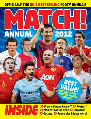 Book cover for Match Annual 2012