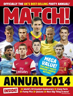 Book cover for Match Annual 2014