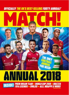 Book cover for Match Annual 2018