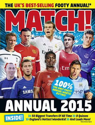 Book cover for Match Annual 2015